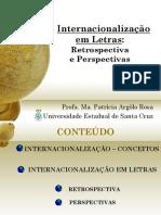 Palestra Internacionalização Em Letras