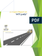 A Project Report on HTT Cabs