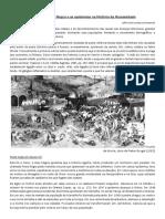 O Caso Da Peste Negra e as Epidemias Na História Da Humanidade