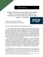 Panama El Istmo de La Discordia