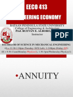 Engineering Economy Lecture - Final Exam Reviewer