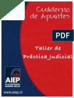 Taller de Práctica judicial.