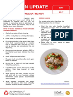 Eating Healthy While Eating Out - Nutrition (1st Flyer)_2018