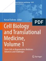 (Advances in Experimental Medicine and Biology 1079) Kursad Turksen - Cell Biology and Translational Medicine, Volume 1_ Stem Cells in Regenerative Medicine_ Advances and Challenges-Springer Internati.pdf