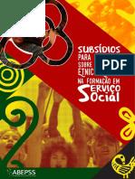 Subsidio Debate Questão Etnico Servico Social