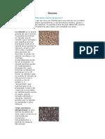 Granos, Azucares y Edulcorantes Documento