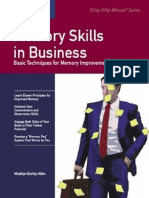 Memory Skills in Business - Madelyn Burley-Allen