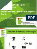 Bluetooth, Zigbee e LoRa