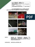 1. Manual Para El Mantenimiento de La Señalizacion Horizontal y Vertical