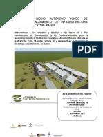 Informe Mensual No. 01- Altos Del Rosario (1)