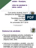 Sistemul de sanatate in Romania