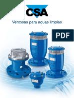 CSA Ventosas Para Aguas Limpias 8.2017