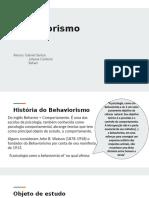 Slide - Behaviorismo por Skinner