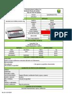 Formato Mye - Balanza 3kg