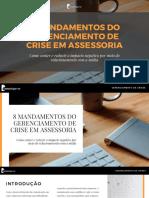 8 Fundamentos do Gerenciamento de Crise em Assessoria