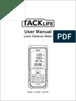 Tacklife S3-50 Laser Distance Meter