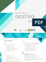 Relatorio Gestao 2018