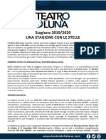 TeatroDellaLuna Stagione 2019-2020