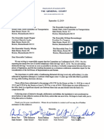 Senate Republican Caucus Letter - Distracted Driving