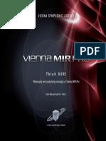 Think-MIR Vienna MIR Pro Manual Add-On Rev1 en 2