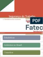 Aula 02 - Segurança do Trabalho - Estatísticas do Trabalho.PDF