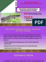 Consideraciones Para El Planteamiento y Programación de Obras