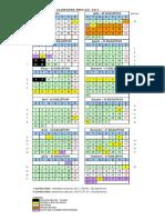 Anexo i - Calendário Escolar 2013-1