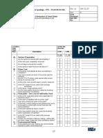 Checklist III for FSG 37