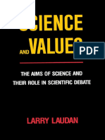 LAUDAN, Larry - Science and Values - The Aims of Science and Their Role in Scientific Debate