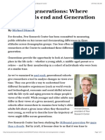 Defining Generations