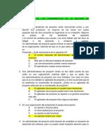 Principios de Los Fundamentos de La Gestión de Proyectos