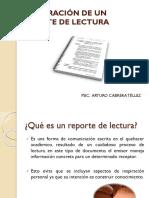 ELABORACIÓN DE UN  REPORTE DE LECTURA.pptx