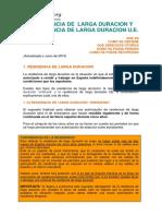 Guia Residencia Larga Duracion 2015