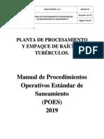Manual de Poes Aziza Export, s.a.2019