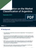 Consultation Argentina