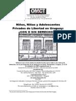 Privación de libertad de adolescentes en Uruguay OMCT