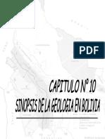 geologia general - sinopsis de la geologia en Boliva.  UMSS.