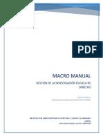 Macro manual