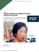 Katsuko Saruhashi, La Investigadora de La Lluvia Radiactiva en Los Océanos _ Ciencia _ EL PAÍS