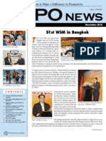 Asian Productivity Organization (APO) Monthly Newsletter – November 2010