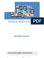 Acercamiento al entorno digital. Las redes sociales