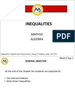 Lesson 4 - Inequalities.ppt