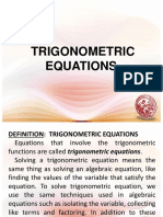 Lesson 8 - Trigonometric Equations.ppt
