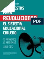 Propuestas para revolucionar el sistema educacional chileno.pdf