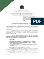 Resolução Nº 211 de 13 de Novembro de 2006