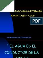 3.2. Captación de Agua Subterránea - Manantiales y Pozos.ppt