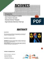 Exposicion Radiacion
