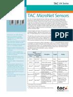 TAC MicroNet Sensors - MN-S Series