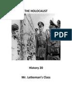 The Holocaust Unit Outline