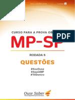 MP.SP Obj - Rodada 6